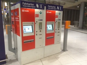 DB Ticket Automat