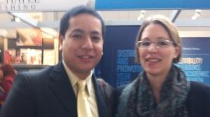 Arjun Sachdev & Andra Riemhofer Frankfurter Buchmesse