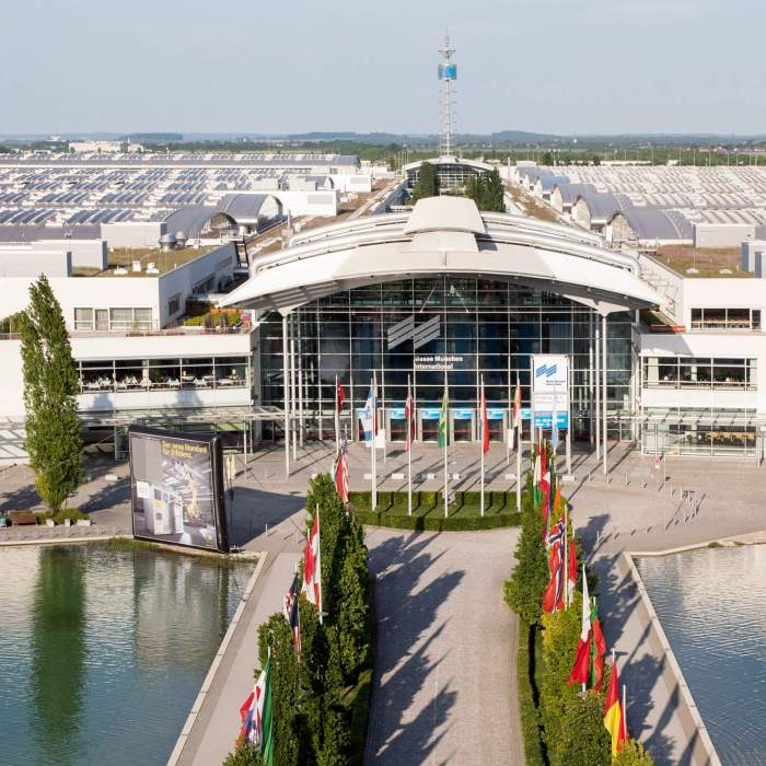 Munich Trade Fair West Entrance