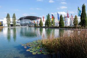 Munich Trade Fair Lake