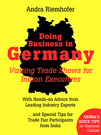 Visiting Trade Shows for Indian Executives is the second volume in a series of books on Doing Business in Germany, targeting business owners and managers who want to increase their presence in this market. Readers will benefit greatly from this concise and practical how-to manual, in which several top industry experts from both Germany and India have shared their advice on the above questions. Focussing on Indo-German business relationships, this e-book provides many examples of how and why culture matters.