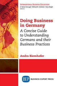 The focus of the book is to help readers understand how certain concepts and values influence the way Germans like to do business.