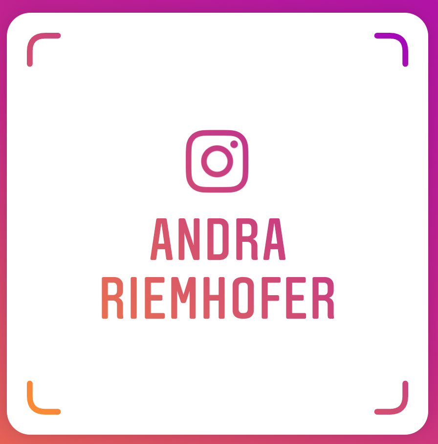 Andra Riemhofer on Instagra